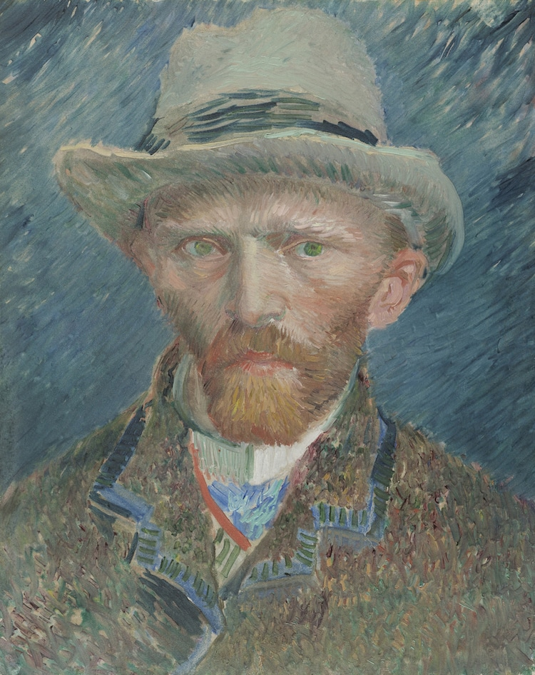 europeana digital archive van gogh self portrait