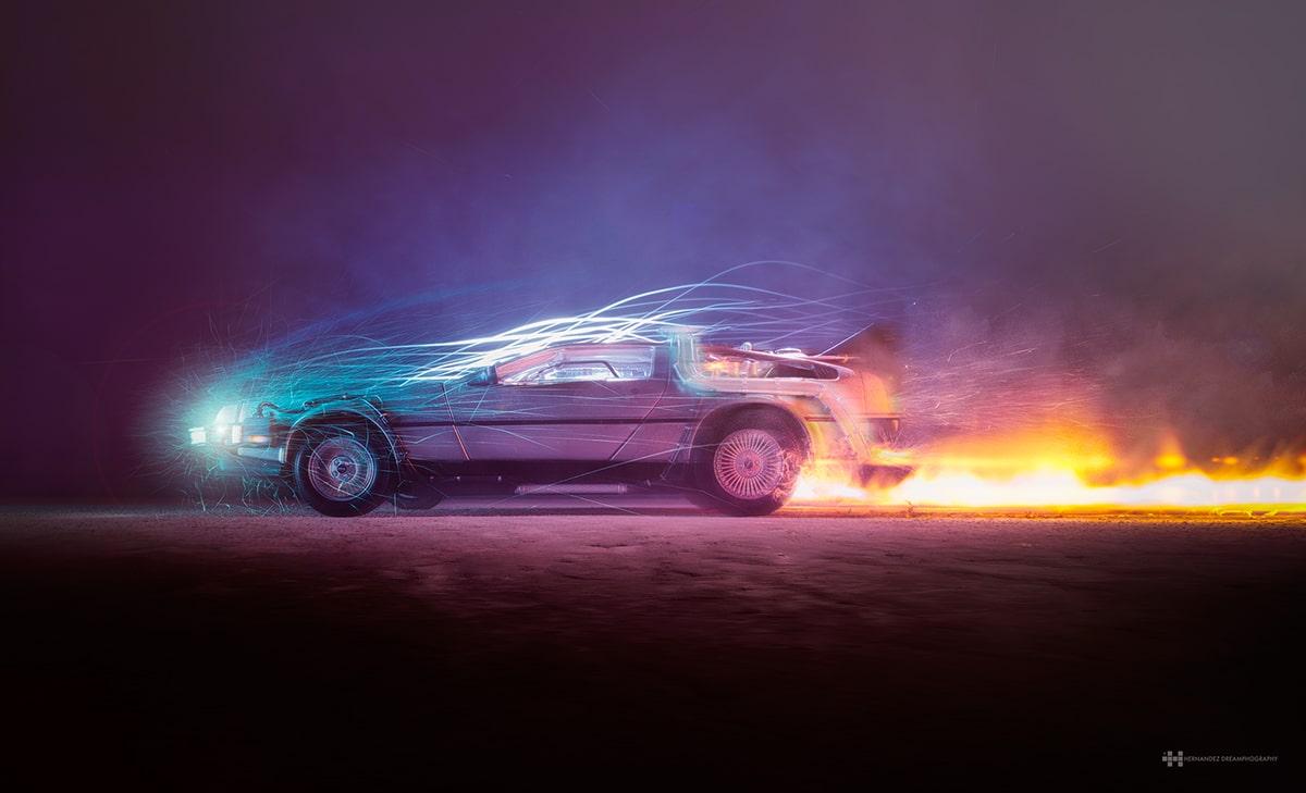Back to the Future Fan Art by Photographer Felix Hernandez