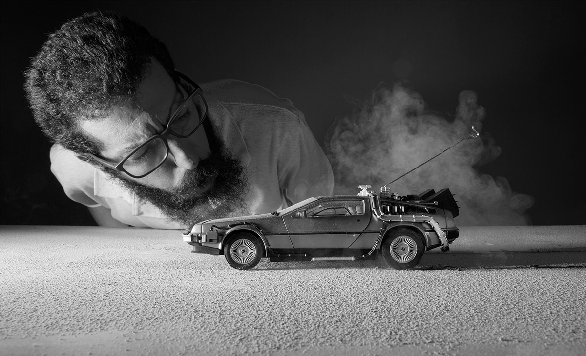 Spectacular Back To The Future Fan Art Created With Toy Photography