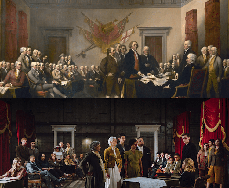 Descendants of the Founding Fathers 241 Years Later