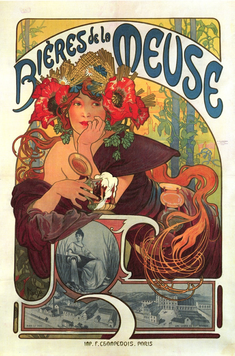 Poster design online free download - Free Posters Vintage Posters La Belle Epoque Minneapolis College Of Art And Design Mcad