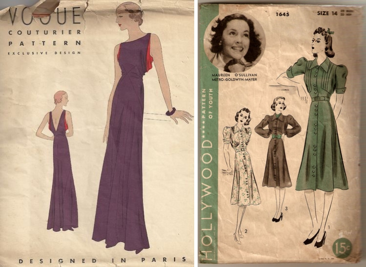 Vintage Sewing Patterns Needlecraft