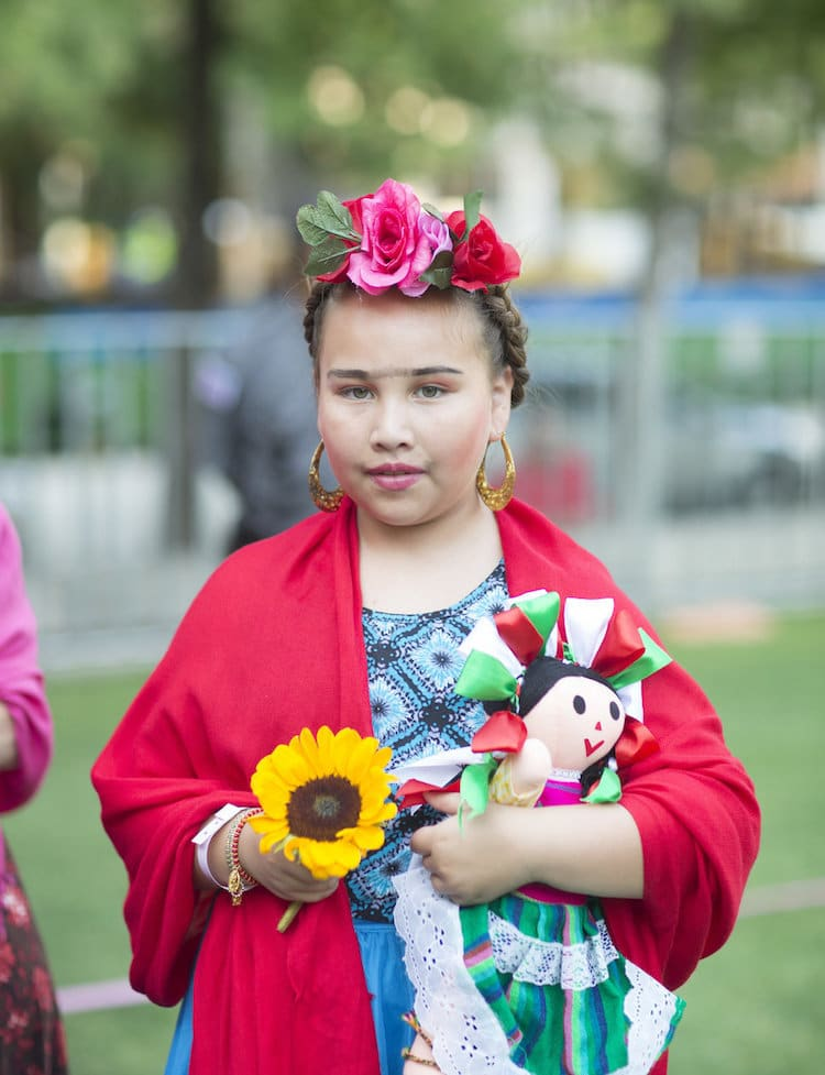 Frida Kahlo Costume Frida Kahlo Birthday Dallas Museum of Art World Record