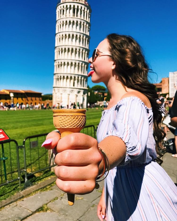 Creative Leaning Tower of Pisa Pictures Tourist Photos