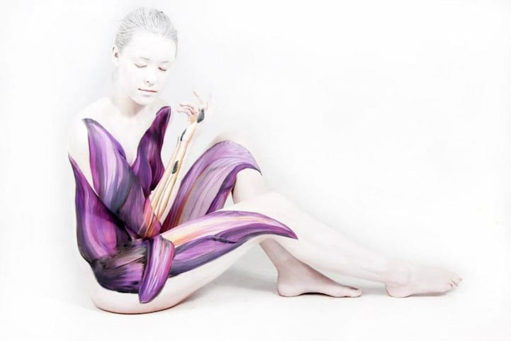 Gesine Marwedel Fine Art Bodypainting