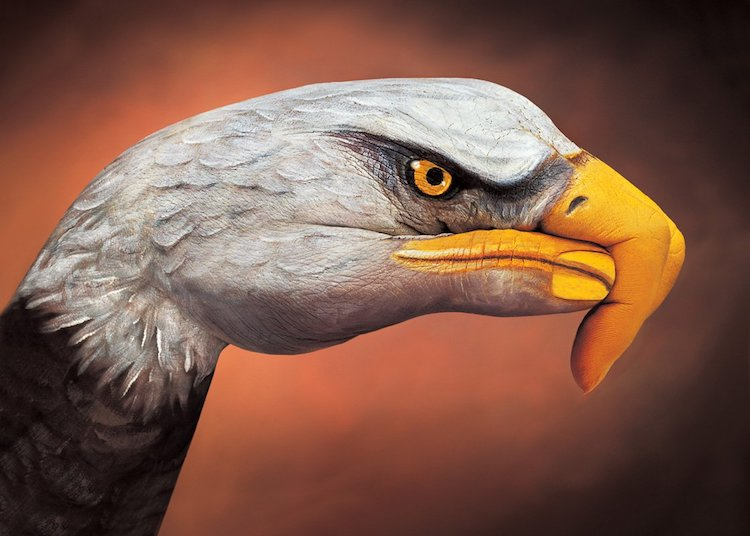Guido Daniele Body Painting