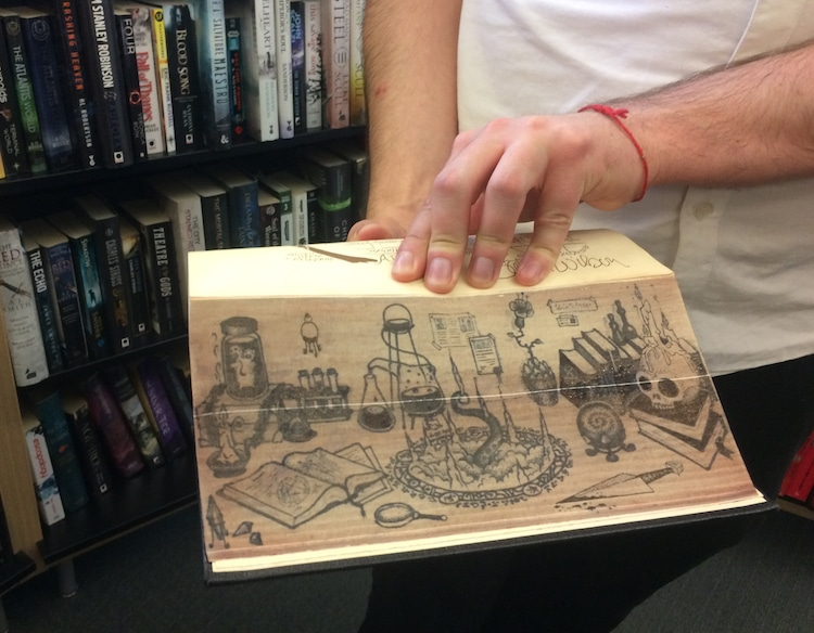 Books with Fore-Edge Painting