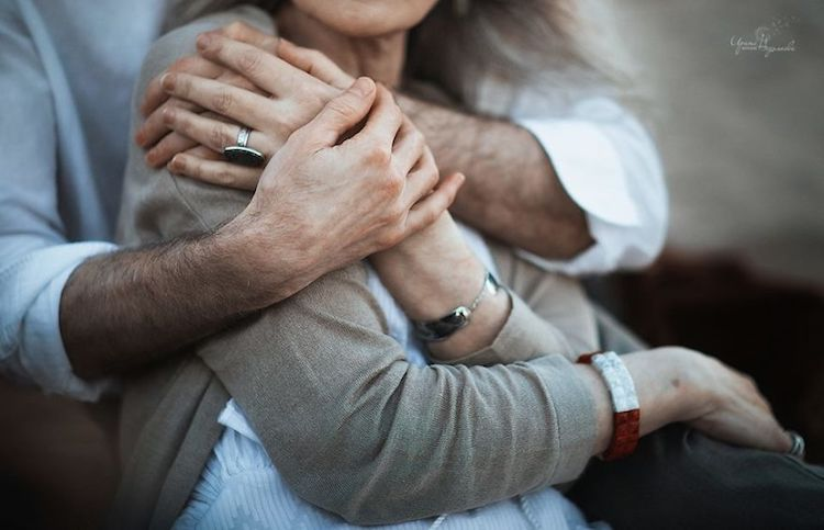 Pictures of Elderly Couples in Love