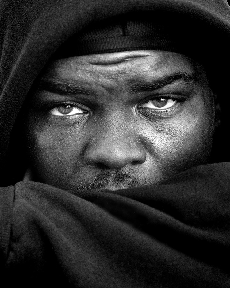 leroy skalstad portraits of homeless people
