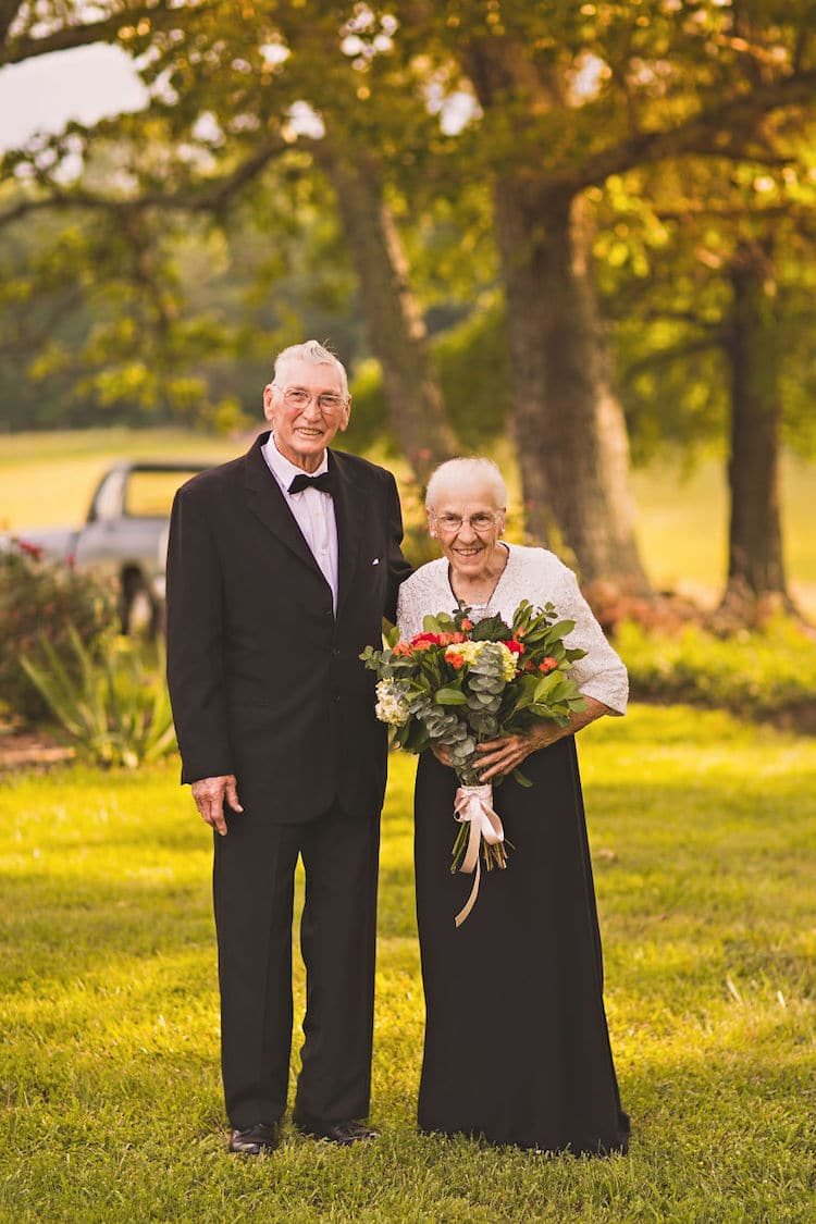 65th Wedding Anniversary Photo Shoot Megan Vaughan