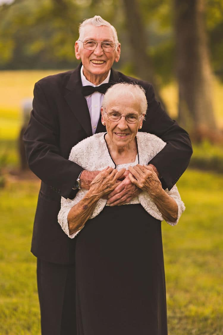 65th Wedding Anniversary Photo Shoot Megan Vaughan Elderly Couple
