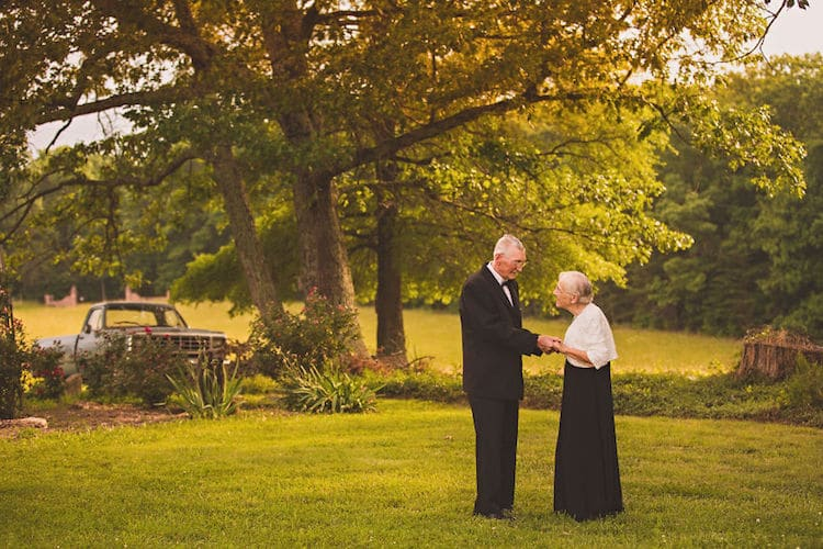 65th Wedding Anniversary Photo Shoot Megan Vaughan Elderly Couple
