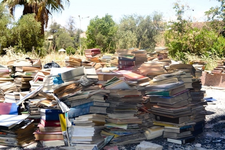 donate books to mosul library