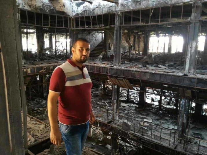 mosul eye rebuilding mosul university library