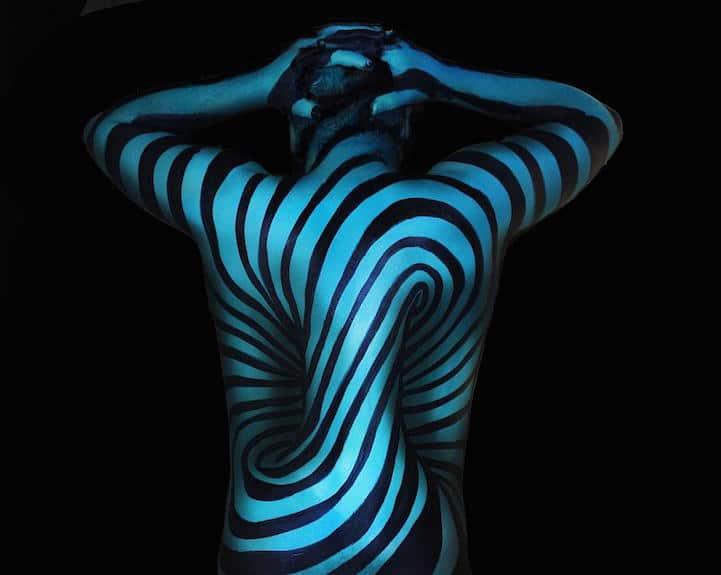 Natalie Fletcher Optical Illusion Art