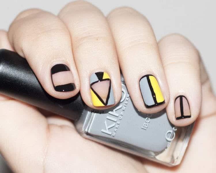 Negative Space Art Negative Space Nails