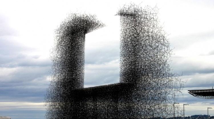Negative Space Art Negative Space Sculpture Installation