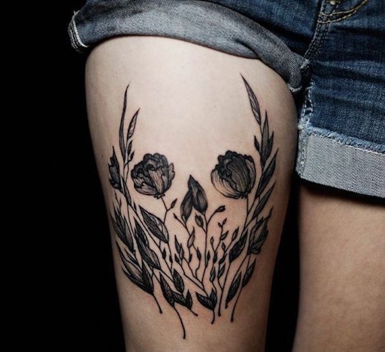 Negative Space Art Negative Space Tattoos