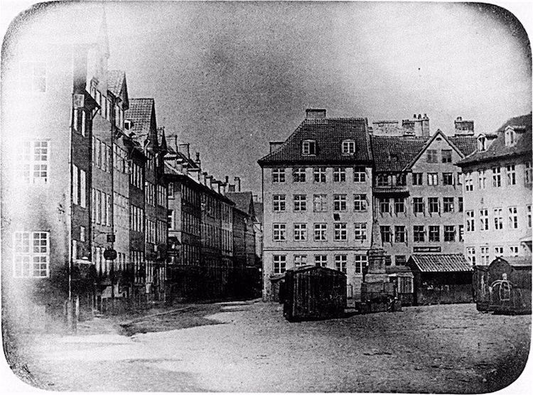 Oldest Photo of Copenhagen