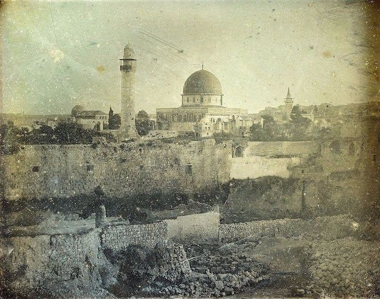 Oldest Photo of Jerusalem