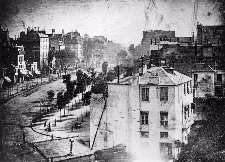Oldest Photo of Paris