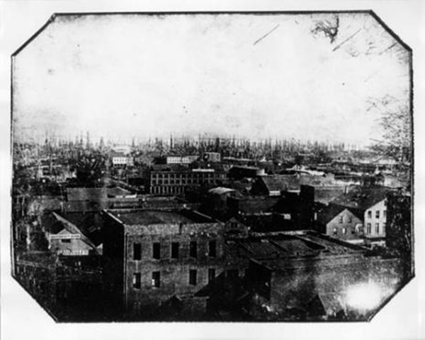 Oldest Photo of San Francisco