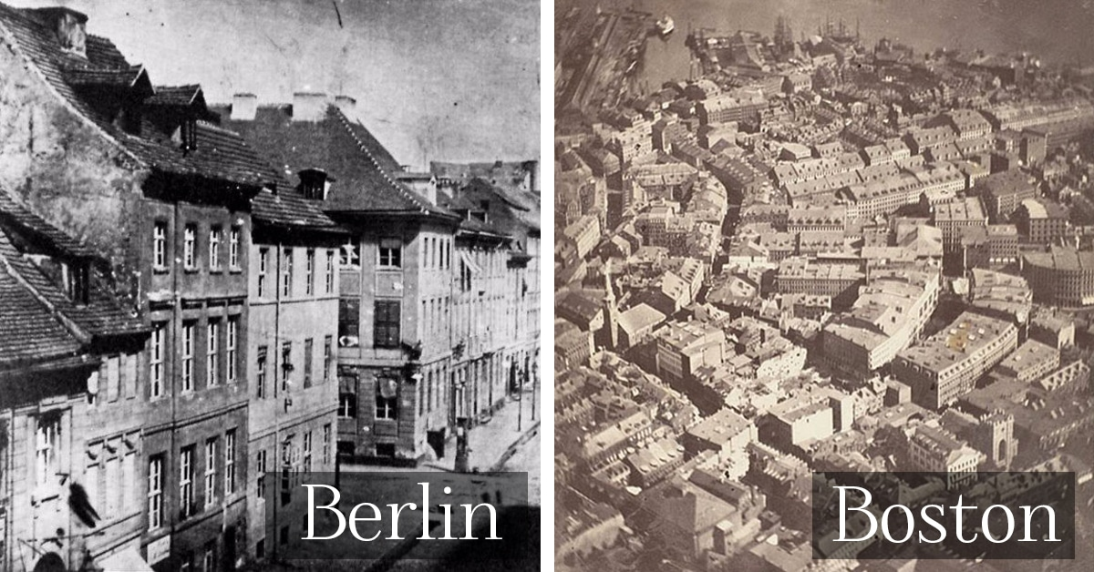 Oldest photos of 20 famous cities around the world Oldest city in the world