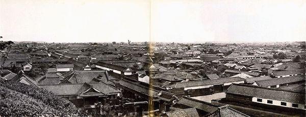 Oldest Photo of Tokyo