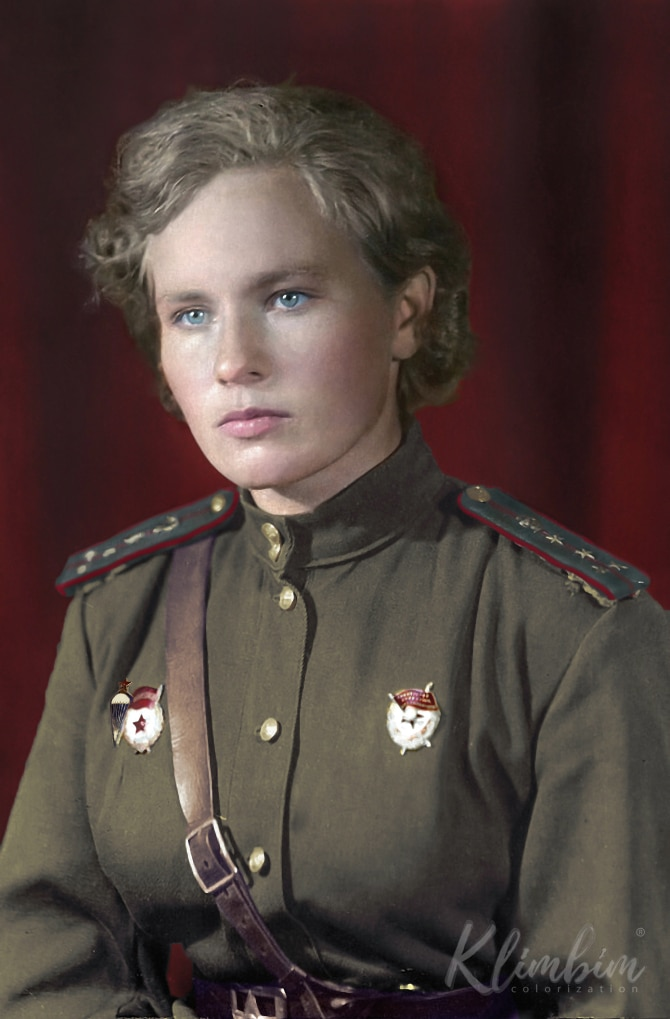 Olga Shirnina - Colorized Photos of Russian History