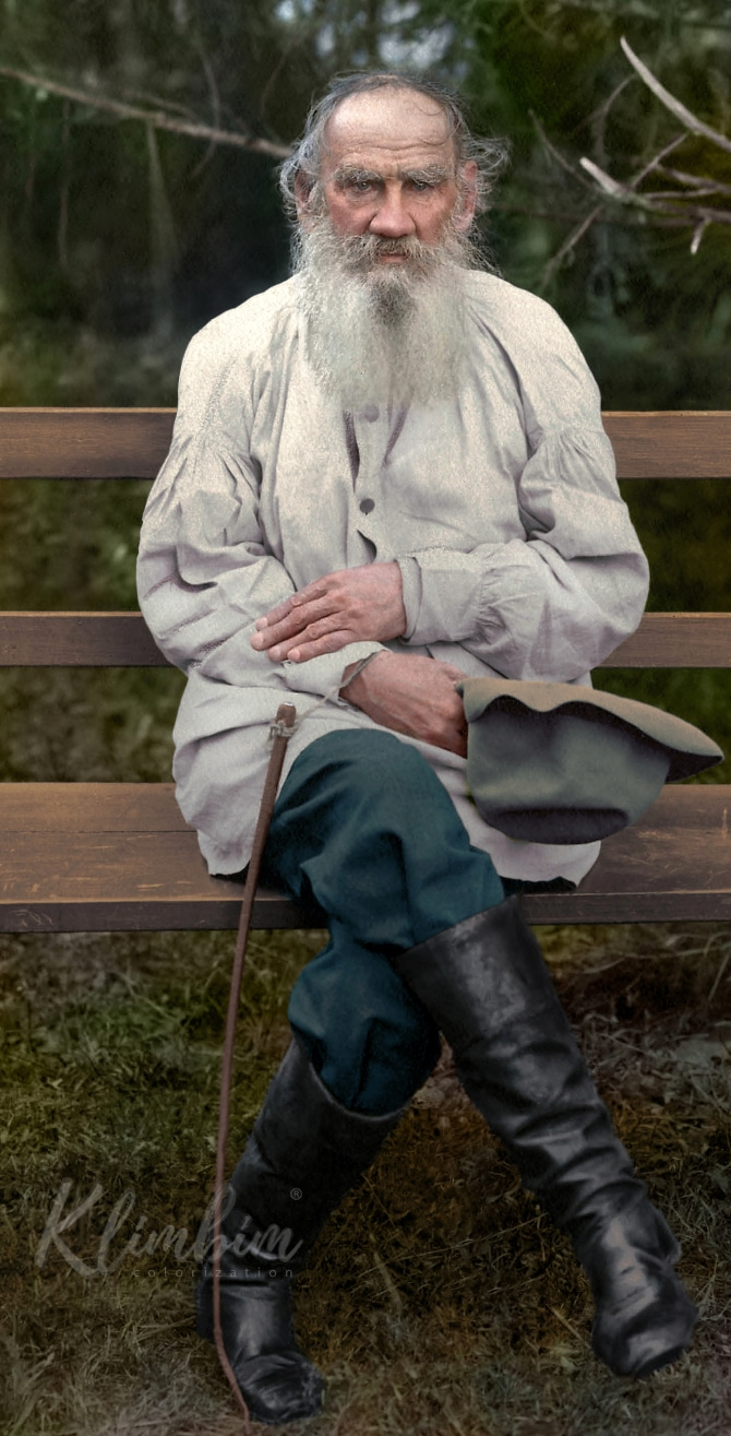 Leo Tolstoy great russian authors
