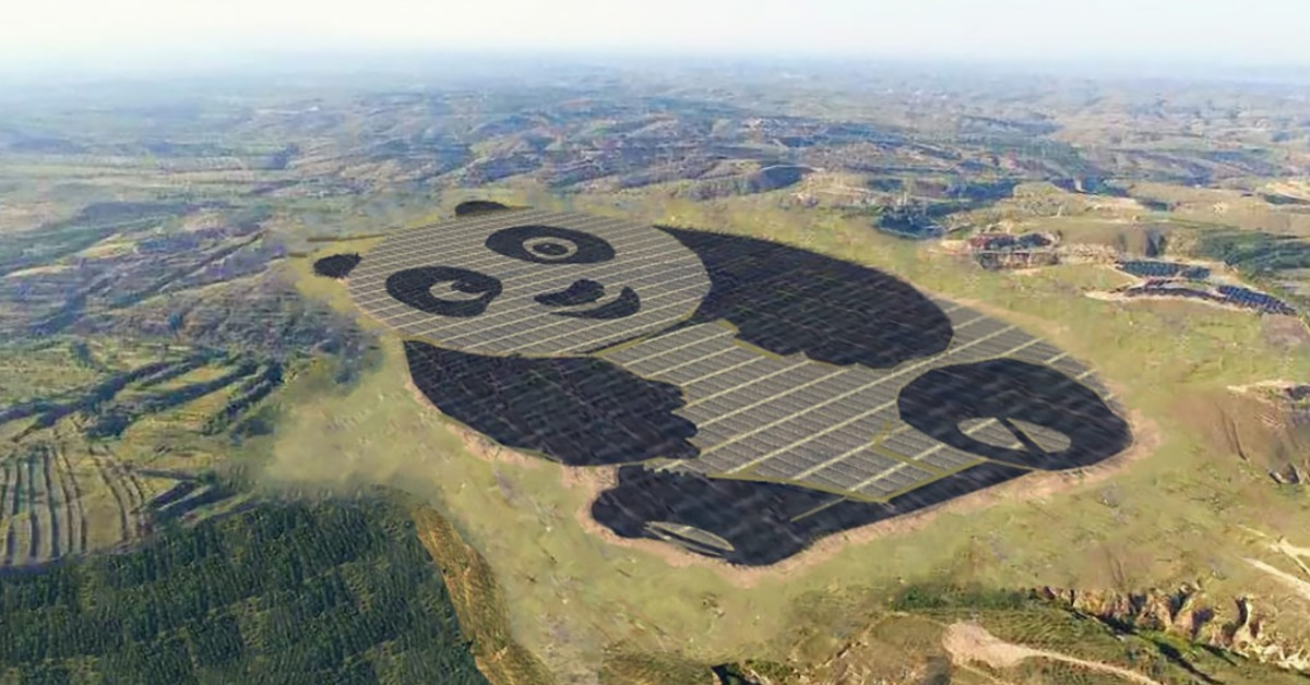 Panda solar farm thumbnail