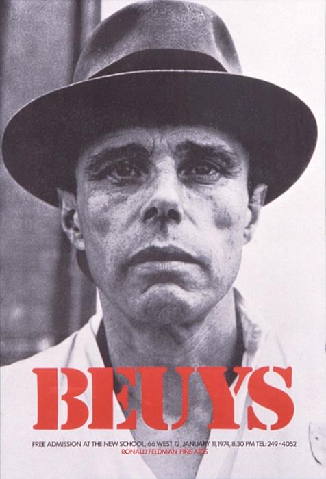 Performance Artist Joseph Beuys