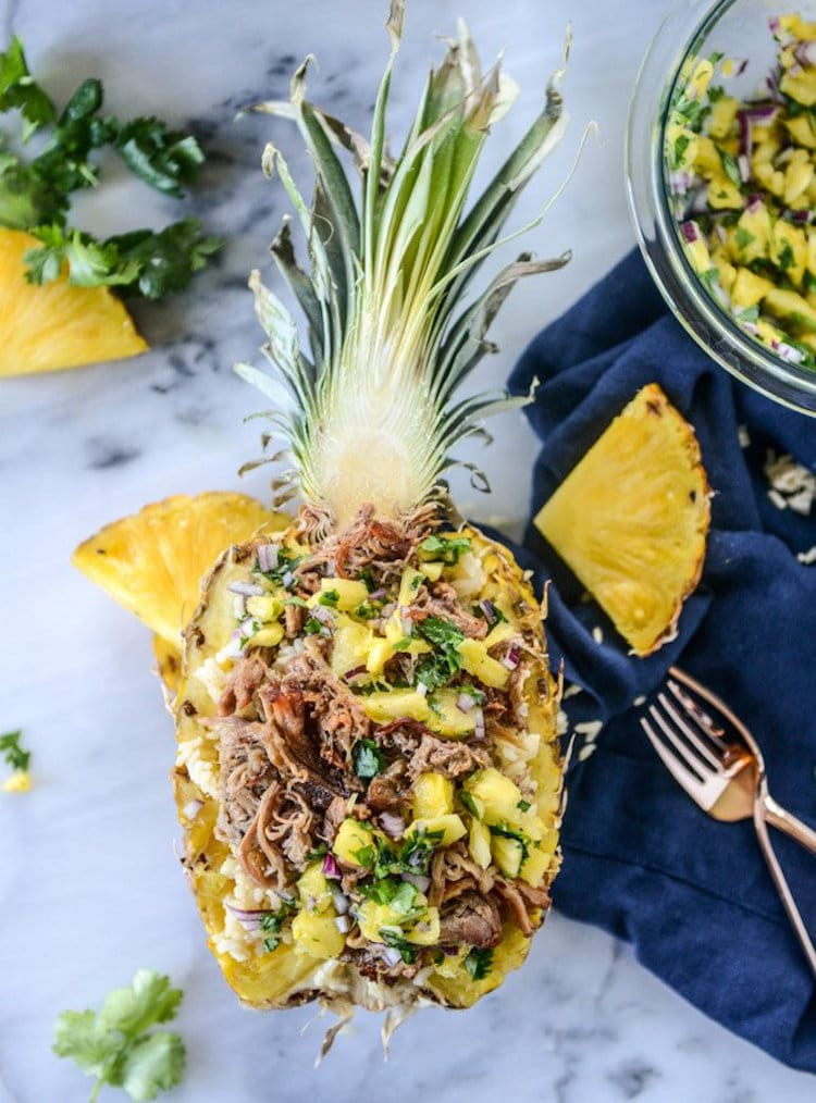 Pineapple Bowl Recipes Dinner
