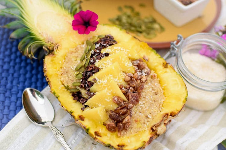 Pineapple Bowl Recipes Breakfast Bowls