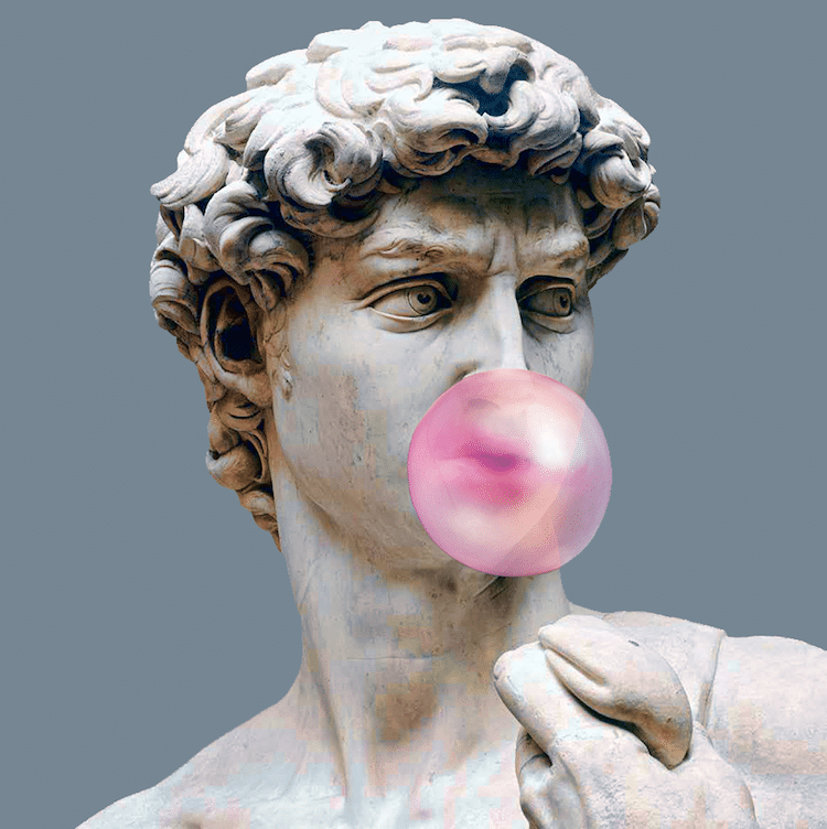 Pop Culture Art History Composites Dan Cretu