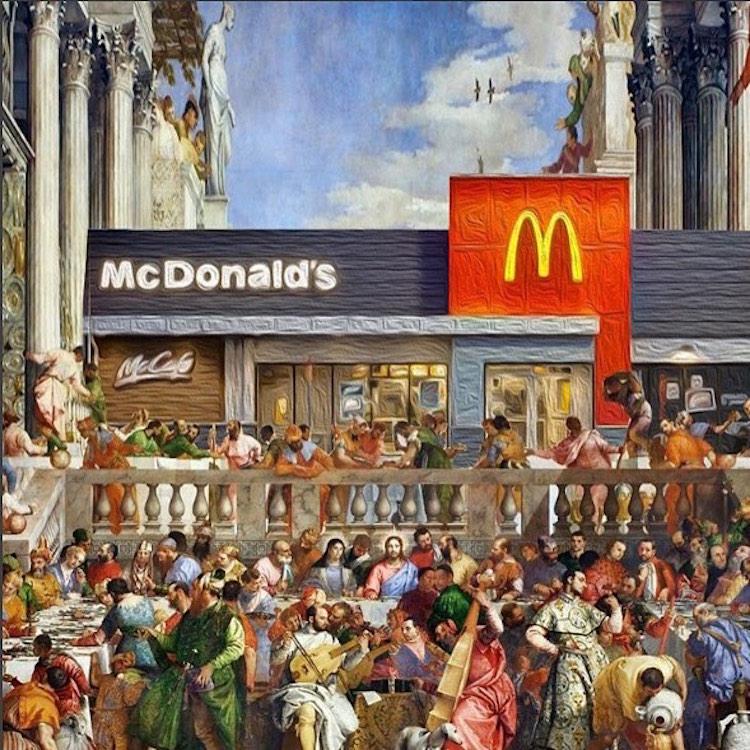 Pop Culture Art History Composites Dan Cretu