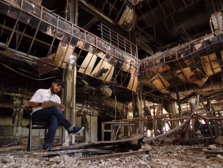 Rebuilding Mosul Library