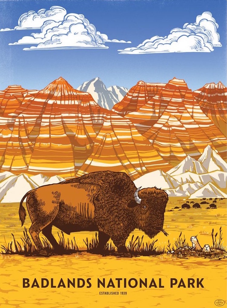 Retro National Park Posters Celebrate Diversity Of America S Parks