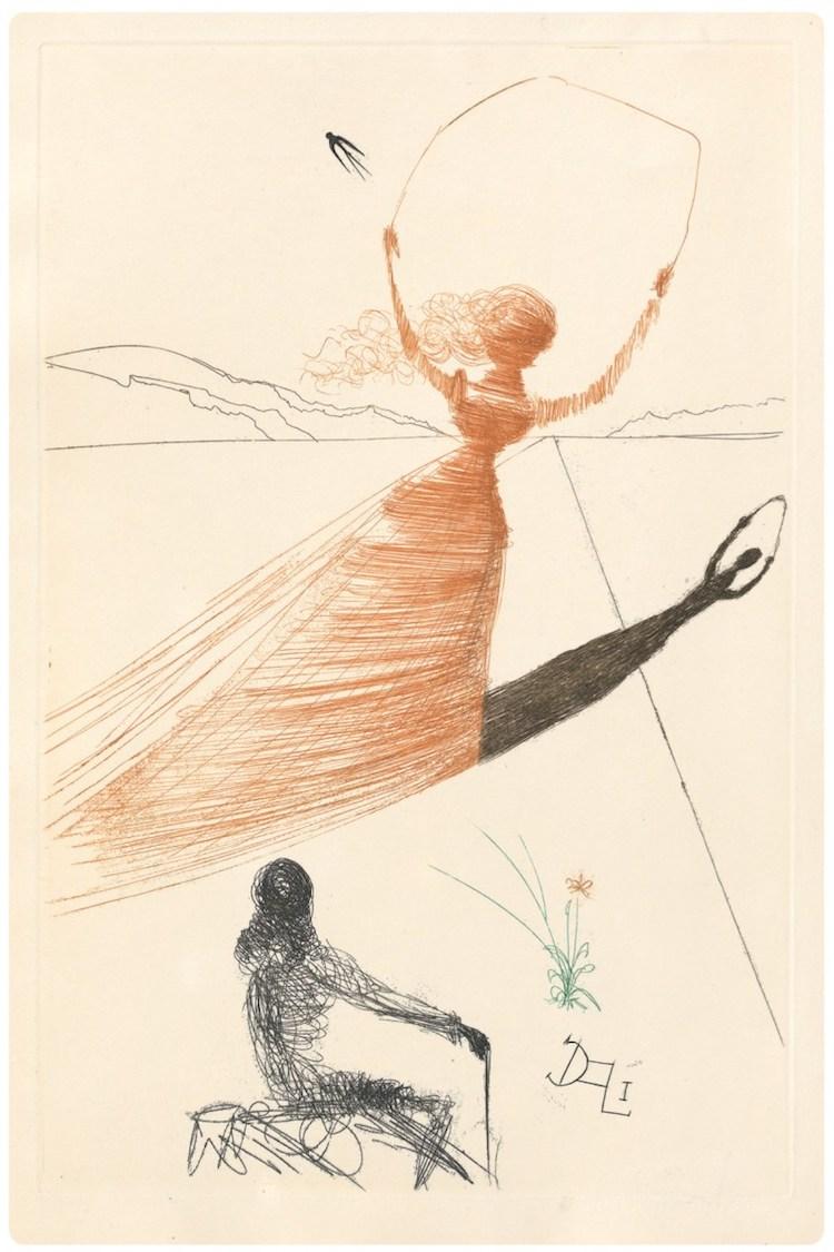 Salvador Dali Alice's Adventures in Wonderland