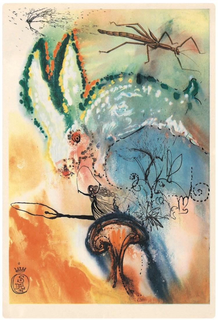 Salvador Dalí - Alice in Wonderland