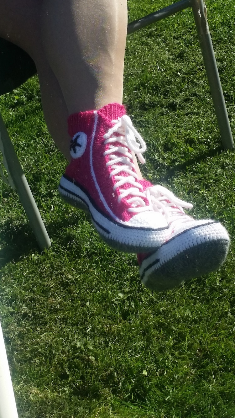 Converse Knit Sneakers by Rea Järvenpää