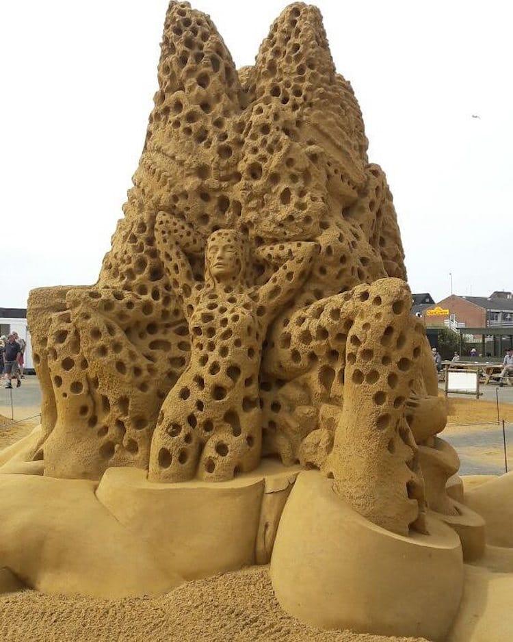 Sondervig Sand Sculpture Festival Sand Sculptures