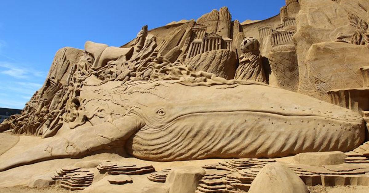 Sand Sculpture Festival Presents Sea Themed Sand Sculptures