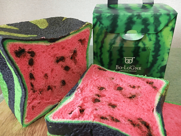 Square Watermelon Bread Plays On Growing Food Trend