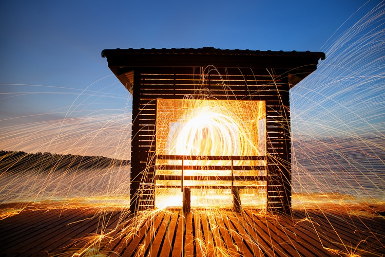 Steel Wool Photography Project Ideas