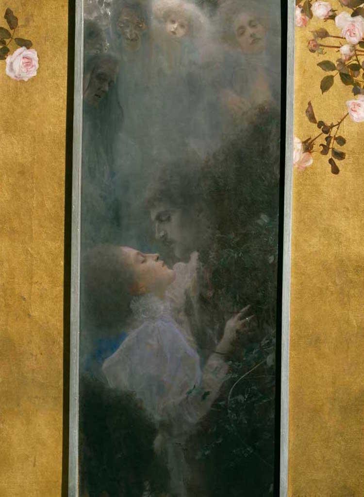 Gustav Klimt Amor