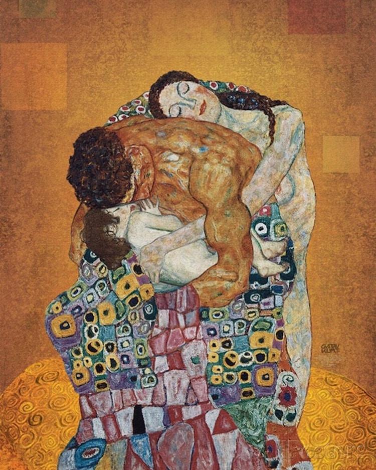 La familia Gustav Klimt