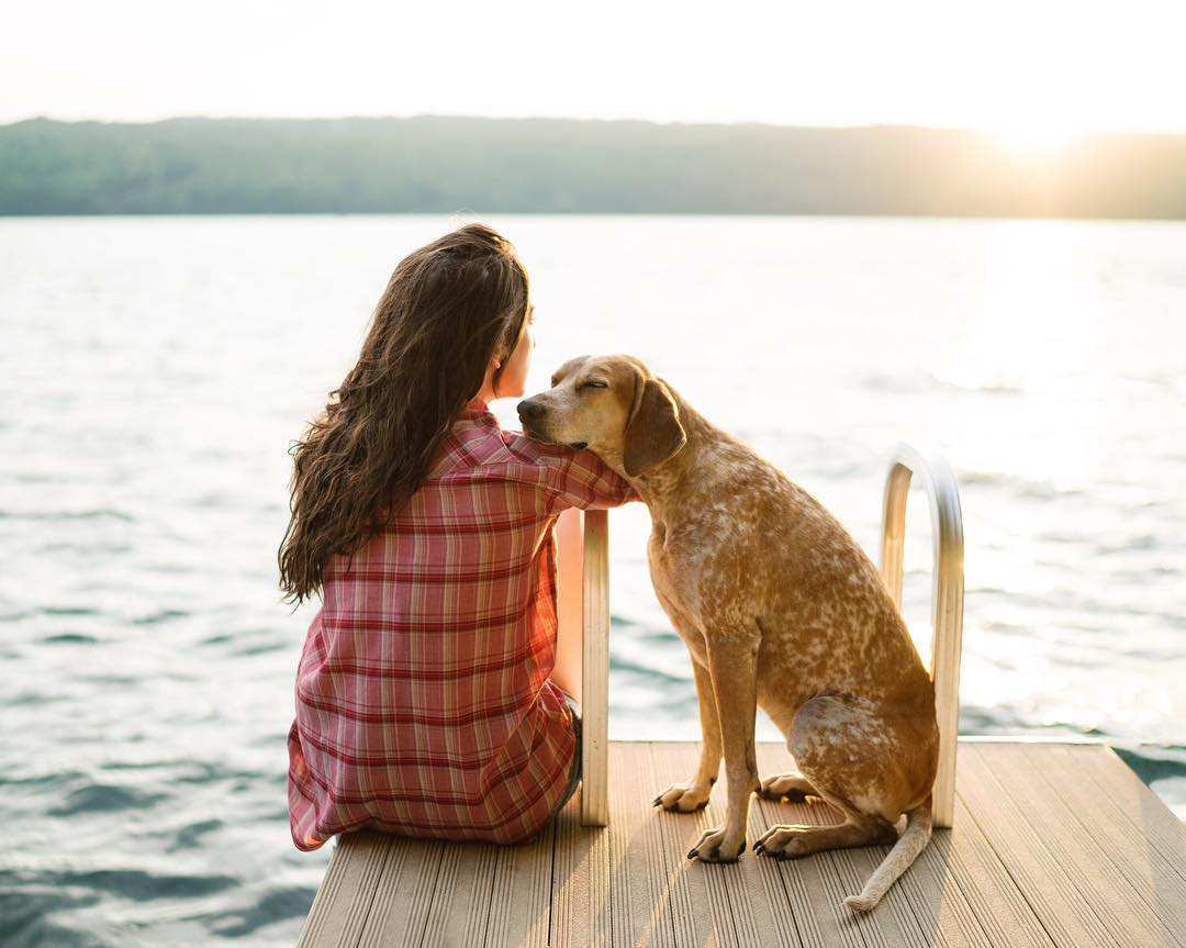 Candid Family Photos by Theron Humphrey and His Dog Maddie
