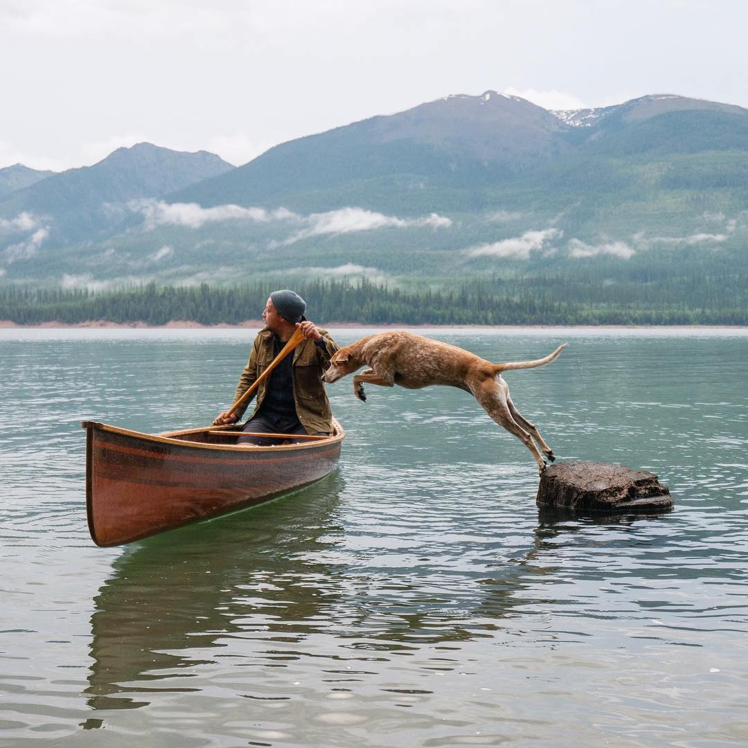 Family Photos by Theron Humphrey and His Dog Maddie