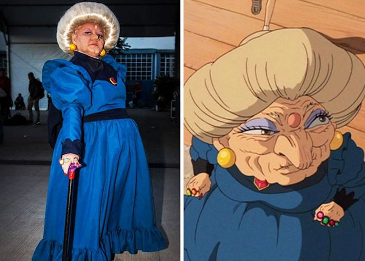 cartoon cosplay loving mom makes spoton pop culture costumes